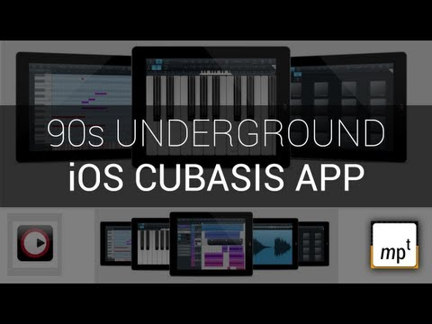 iOS Cubasis - The 90s Track Idea Developed Further
