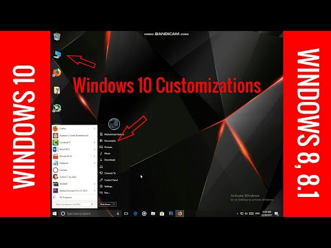 How to Make Your PC Desktop Look Cool and Better  Windows 8, 8.1, 10 Customization