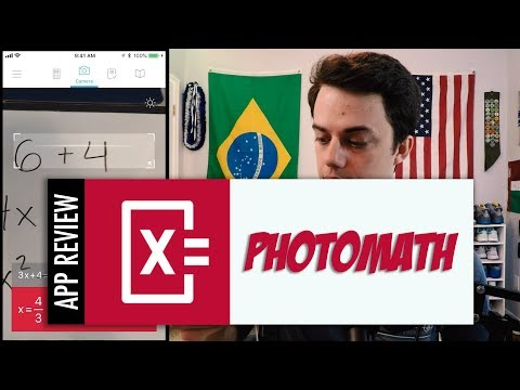 Photomath - Camera calculator solves math problems