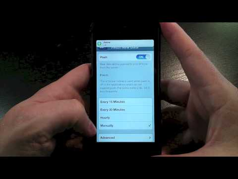 Chieftain Tech Tips: Choose 'Fetch' Over 'Push' for iOS Email to Extend Battery Life