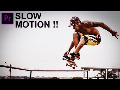 Smooth Slow Motion - Premiere Pro / No Plugins / 24 fps to 240 fps !!