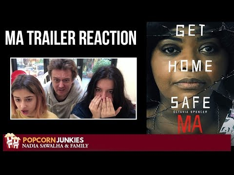 MA - Official Trailer - Nadia Sawalha & The Popcorn Junkies Reaction