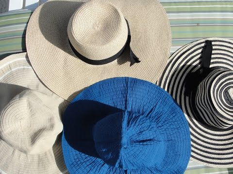 How to make a hat stiff again (straw, floppy and really old hat) 👒👒👒
