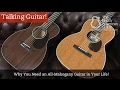 Why You Need An All Mahogany Guitar In Your Life The North American Guitar
