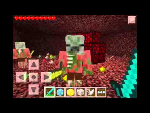 Minecraft Pocket Edition-Making Nether Portal