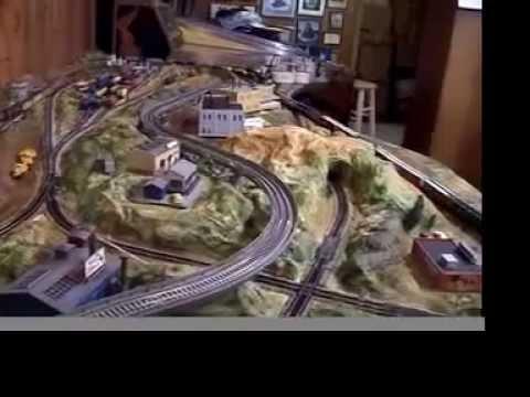 BUILDING N SCALE TRAIN SET