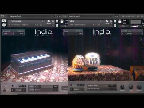 Native Instruments India Discovery Series - Tabla and Harmonium (Original Song)