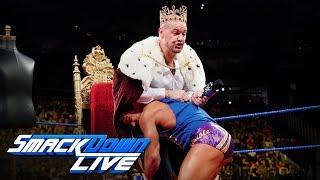 Chad Gable interrupts the coronation of Baron Corbin: SmackDown LIVE, Sept. 17, 2019