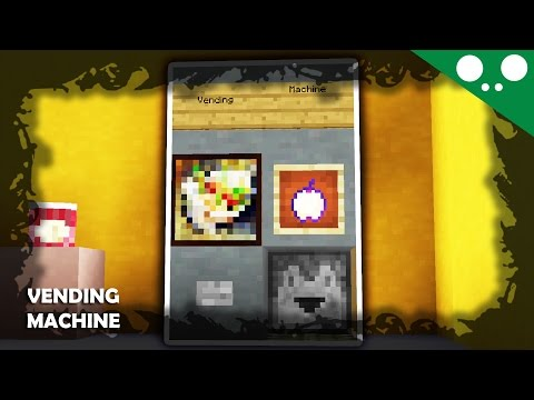 ✔ Minecraft - PS4 l How to make a Vending machine!