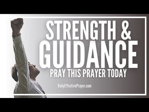 Prayer For Spiritual Strength and Guidance - Get Back On Track