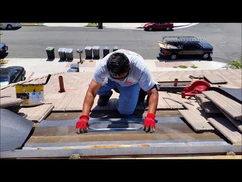 Adding Roof Vents - How to cool your attic with proper roof ventilation.