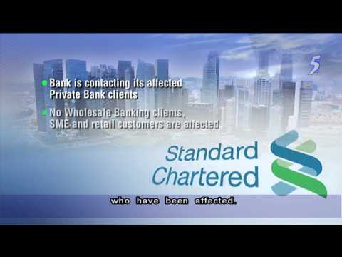 StanChart reports theft of 647 private bank clients' statements - 05Dec2013