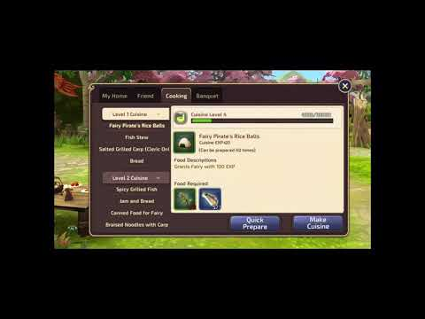 Dragon Nest M SEA How to activate All Fish Buffet