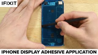 Apple iPhone 6s and Newer Display Adhesive Application- How To