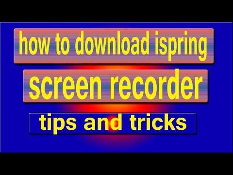 iSpring Free Cam (how to download) adeel shifa tricks