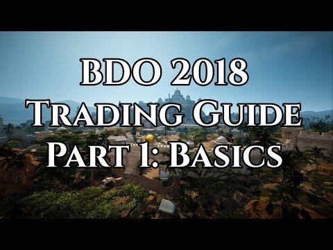 BDO 2018 Trading Guide Part 1: Basics [Black Desert Online]