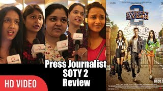 Download Student Of The Year 2 Review | Journalist Disappointed Review | Tiger Shroff, Ananya Pandey, Tara Video