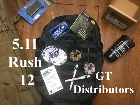 5.11 Backpack Giveaway - GT Distributors Tactical Gear / Police Equipment S2E36