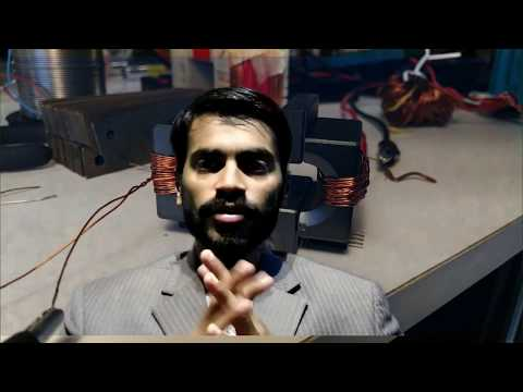 How to work a transformer and ferrite core transformer #SMPS