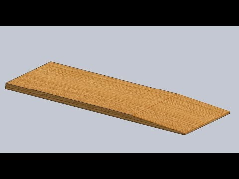 How to Make A Shallow, Angled Cut on a Wide Surface Using a Table Saw
