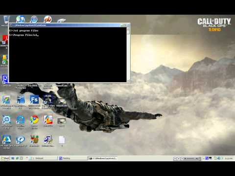 How to open a program using command prompt