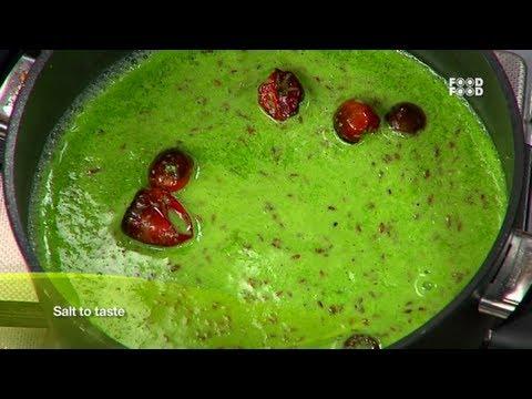 Palak Kadhi - Sanjeev Kapoor's Kitchen