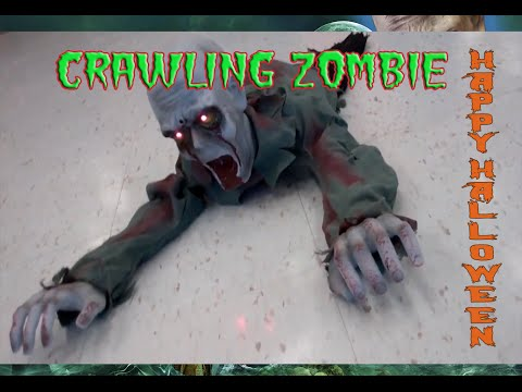 Halloween Decorations - Crawling Zombie Prop