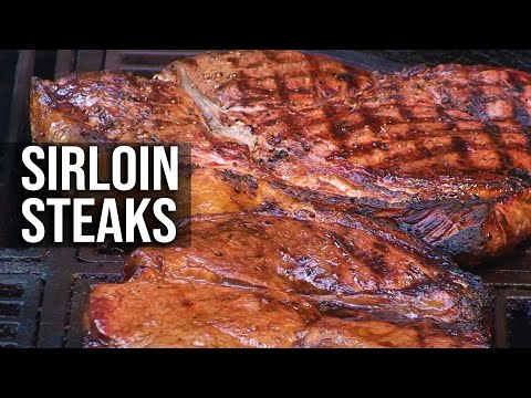Sirloin Steaks recipe by the BBQ Pit Boys