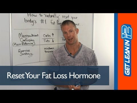 Not Losing Fat? How to Reset your #1 Fat Loss Hormone Naturally to Lose Fat