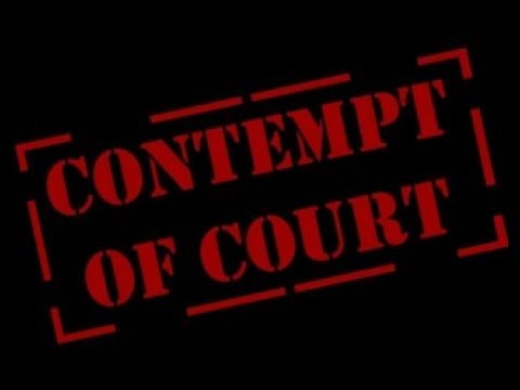 CHILD SUPPORT: CONTEMPT OF COURT