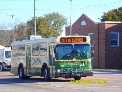 CARTA: Bus Observations - New Flyer D35HFs (January 2015)