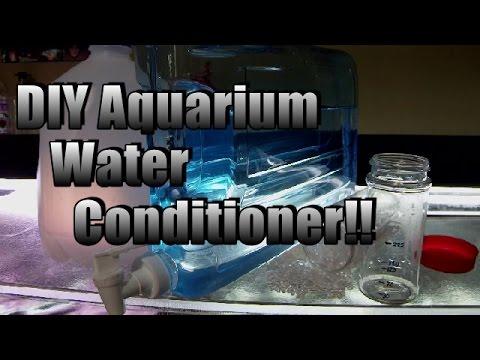 HOW TO: DIY Aquarium Water Conditioner