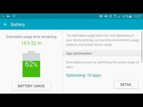 How to increase the life on your battery Samsung new