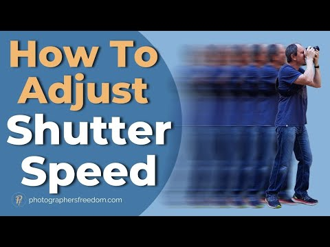 How to Adjust Shutter Speed on Nikon D5200 - A Nikon D5200 Tutorial