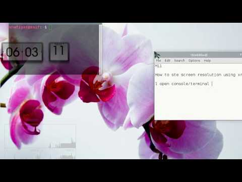 How to set Linux Display Resolution- How to fix unsupported screen resolution in Linux