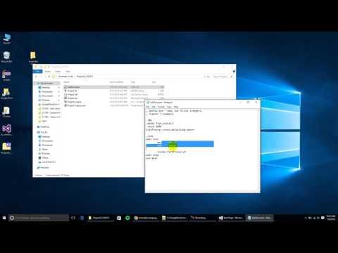 MASM + Microsoft Visual Studio 2015 + Windows 10 + First MASM Project + Kip Irvine Libraries