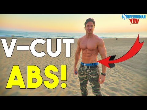 Get The V-LINES! | Top 7 Exercises For V-CUT ABS |