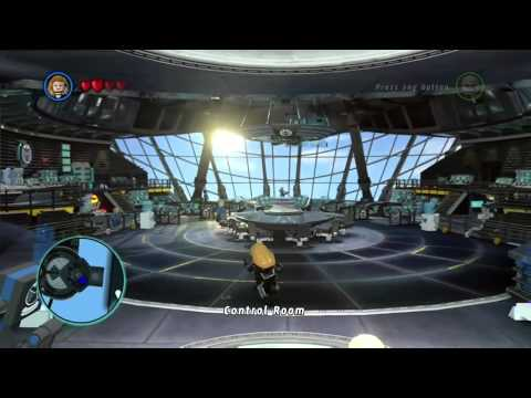 How To Access Free Play Mode - Lego Marvel Hero's