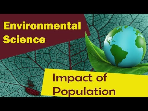 Factors Effecting Environment- Population Growth | Impact of Population Growth |