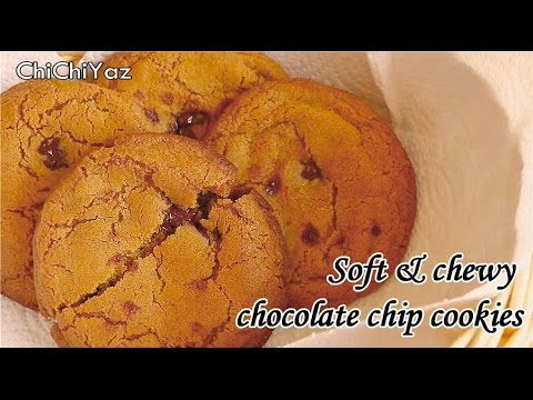 How to make soft & chewy chocolate chip cookies ( my favorite cookies!)