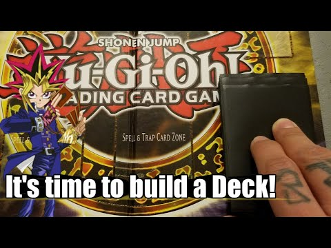 Yugioh! How I layout my cards for Deck building