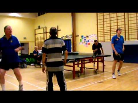 North Norfolk Table Tennis League Top of the Table Season 2011-12 Show 4