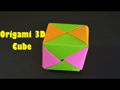 How to make a nice cube | ORIGAMI