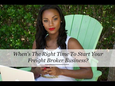 When You Shouldn't Start A Freight Broker Business