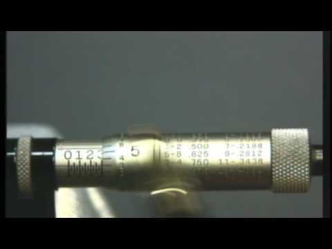 Nashua Community College Micrometer Reading