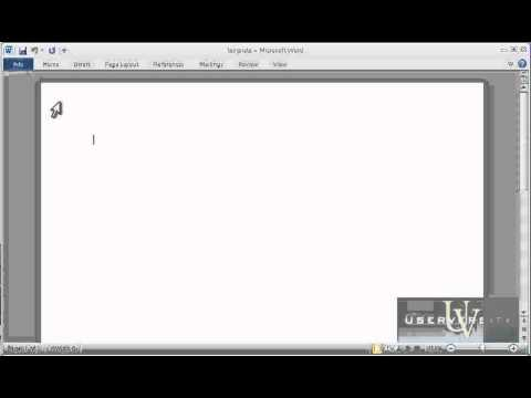 Show the Document Panel in Office 2010