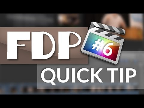 FCPX Quick Tip #6: How to do Subtitles in Final Cut Pro X