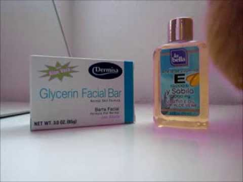 Using Glycerin Soap and Vitamin E Oil on my face