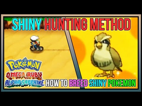 How to Breed for a Shiny Pokemon in Pokemon Omega Ruby & Alpha Sapphire | Masuda Method