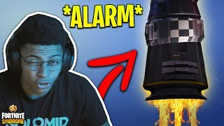 MYTH REACTS TO THE SPACESHIP *ALARM*! - Fortnite Moments #114